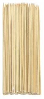 Schaschlikspieße Holz 1200 Stück Grillspieße 20 cm Gemüsespieß Spieß Pieker BBQ - Vorschau 3