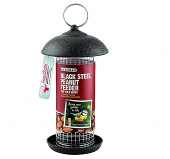 Gardman Futtersäule für Erdnüsse Vogelfutterstation Futterspender zum Hängen