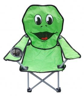 Kinder-Faltarmlehnstuhl Kinderstuhl Campingstuhl DIN EN71 versch. Motive wählbar - Vorschau 2