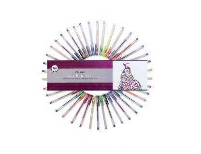 Eparon 40 Stück Gel-Stifte Gelschreiber Glitzer Pastell Metallic Neon Standard - Vorschau 2