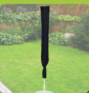 Komfort Schutzhülle für runde Sonnenschirme mit einem Ø von 200-400cm, anthrazit