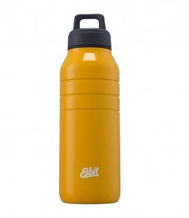 Esbit Trinkflasche Majoris Edelstahl BPA-Frei Gelb 1000 ml Wasserflasche