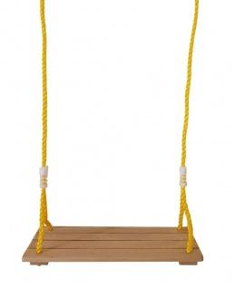 Kinderschaukel Brettschaukel Schaukelbrett Holzschaukel Gartenschaukel Spielzeug