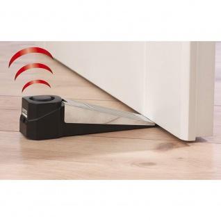 Alarmanlage Türstopp-Alarm EASYmaxx kabellos 100db Türstopper mit Alarmfunktion