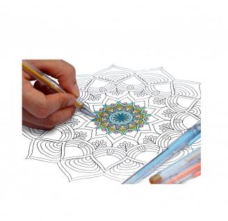Eparon 40 Stück Gel-Stifte Gelschreiber Glitzer Pastell Metallic Neon Standard - Vorschau 3