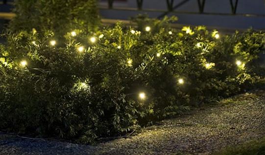 LED Lichterkette 100 LED´s warmweiß In- & Outdoor Weihnachtslichterkette IP44