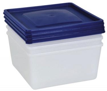 Gefrierdose, Aufbewahrungsdose, Frischhaltedose 1, 5 Liter 3er-Set