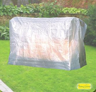 Komfort Schutzhülle für 3er-Gartenschaukel, 215x155x145 cm, transparent