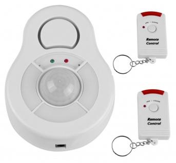 360° Deckenalarm, Alarmanlage mit PIR-Bewegungsmelder, Einbruchschutz, Alarm