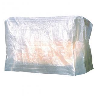 Schutzhülle für 3er Schaukel wasserabweisend mit Ösen, transparent, 215x155x145cm
