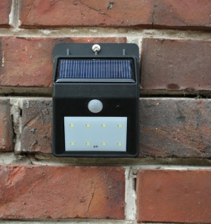 LED Solar Strahler mit IF-Bewegungsmelder Spot Solarleuchte Solarstrahler