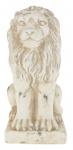Schöne Dekofigur sitzender Löwe, Skulptur, Statue, Tierfigur, Ambiente, 22 cm
