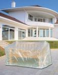 Schutzhülle Abdeckung für Bank Gartenbank 160cm transparent Möbelschutzhülle