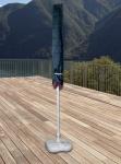 Schutzhülle für Sonnenschirm Schutzhaube Abdeckung für Landhausschirm Ø400 cm