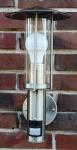 Außenlampe Edelstahl mit LED 7 Watt Außenleuchte Hoflampe IR Bewegungsmelder NEU