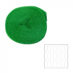 Vogelschutznetz grün 8 x 8 m (0, 23EUR/m²) engmaschig, Obstnetz, Pflanzenschutznetz