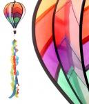 Windspiel Ballon bunt Ø 23 cm Windspinner Windspirale Gartendeko Kinderdeko