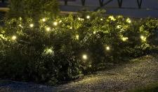 LED-Lichterkette 120 LED´s warmweiß In- & Outdoor Weihnachtslichterkette IP44 24 m