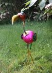 Dekofigur Paradiesvogel 50 cm Metall Vogelfigur Tierfigur Gartendeko NEU