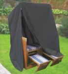 Komfort Schutzhülle für Strandkorb B153xT105xH170, anthrazit, schwere Ausführung