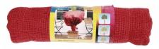 Jute-Schutzsack 100x110cm rot, Pflanzen Winterschutz Schutzhaube Pflanzenschutz