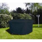 Schutzhaube Schutzhülle Möbelschutzhülle Abdeckung Gartentische 125cm anthrazit