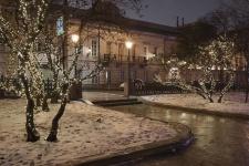 LED-Lichterkette mit 180 warmweißen LED´s In- & Outdoor Weihnachtslichterkette 16, 5 m IP44