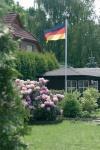 Alu Fahnenmast Flaggenmast mit Deutschlandflagge 6, 20 m Fahnenstange