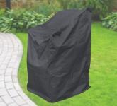 Komfort Schutzhülle für Stapelstühle, Stuhl Schutzhaube, anthrazit, 63x79x120 cm