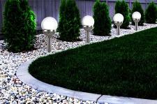 12er Set Kristallglas Premium Solarlampe Leuchte LED Edelstahl Gartenkugel