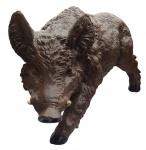 Dekofigur Willi das Wildschwein Eber Wildsau Keiler Gartendeko 31 cm