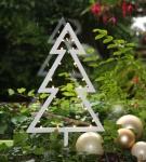 LED Deko Tannenbaum mit 20 LED´s Weihnachtsbaum Weihnachtsdeko Fensterdeko Dekoleuchte 38, 5 cm batteriebetrieben