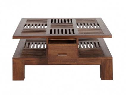 Couchtisch Massivholz Bali II - 2 Schubladen - Vorschau 5