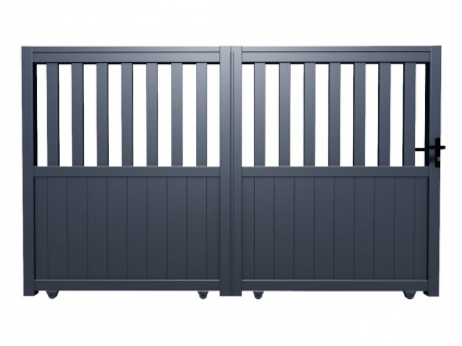 Gartentor Schiebetor TARNOS - Aluminium - B400 x H140 cm