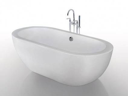Freistehende Badewanne Neptune - Weiß - 234 L