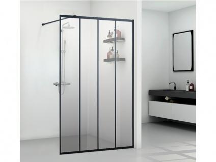 Duschtrennwand Seitenwand italienische Dusche ATALIA - 120x200cm