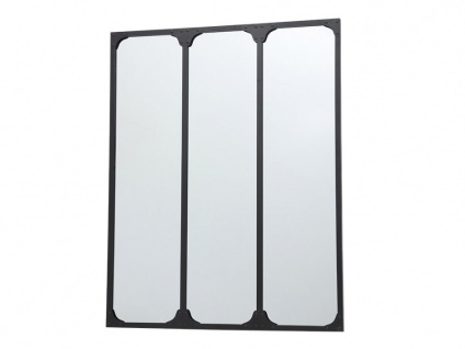 Atelier Glaswand Metall WICK - 121x96cm - Industrie-Design