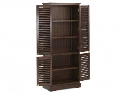 Kleiderschrank Massivholz Bali II - 4 Türen - Vorschau 5