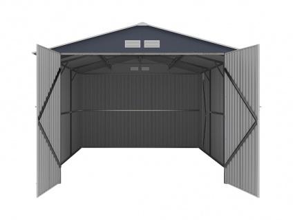 Garage NERON - Stahl - Grau - 18, 7 m² - Vorschau 4