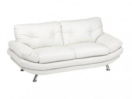 2-Sitzer-Sofa Forrest - Weiß - Vorschau 1