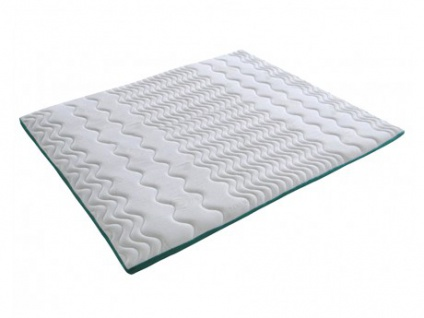 Visco-Matratzenauflage Topper Aloe Vera - 140x190cm