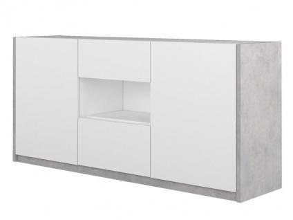 Sideboard PARKER - 2 Türen & 2 Schubladen - Vorschau 3
