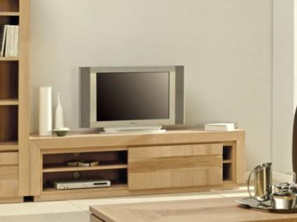 TV-Möbel Holz Symphonie - Eiche Furnier