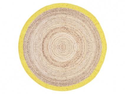 Teppich rund INDORE - 100% Jute - D. 150 cm