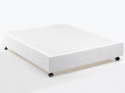 Bettgestell mit Lattenrost Universel - 140x190 - Weiß