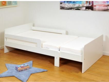 Ausziehbett ZELLY + Lattenrost - ausziehbar 90x140-90x200cm - Vorschau 4