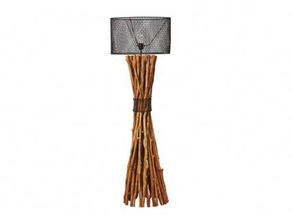 Stehlampe Holz & Metall BROCANTE - Vorschau 4