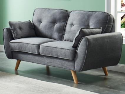 2-Sitzer-Sofa Stoff MELINA