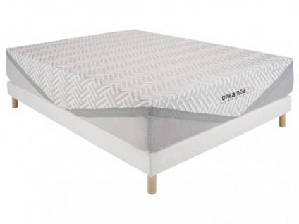 Matratzen Lattenrost Set mit Latex-Matratzenauflage EDEN - 160x200cm