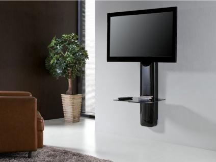 tv m bel wandhalterung candela schwarz kaufen bei kauf. Black Bedroom Furniture Sets. Home Design Ideas